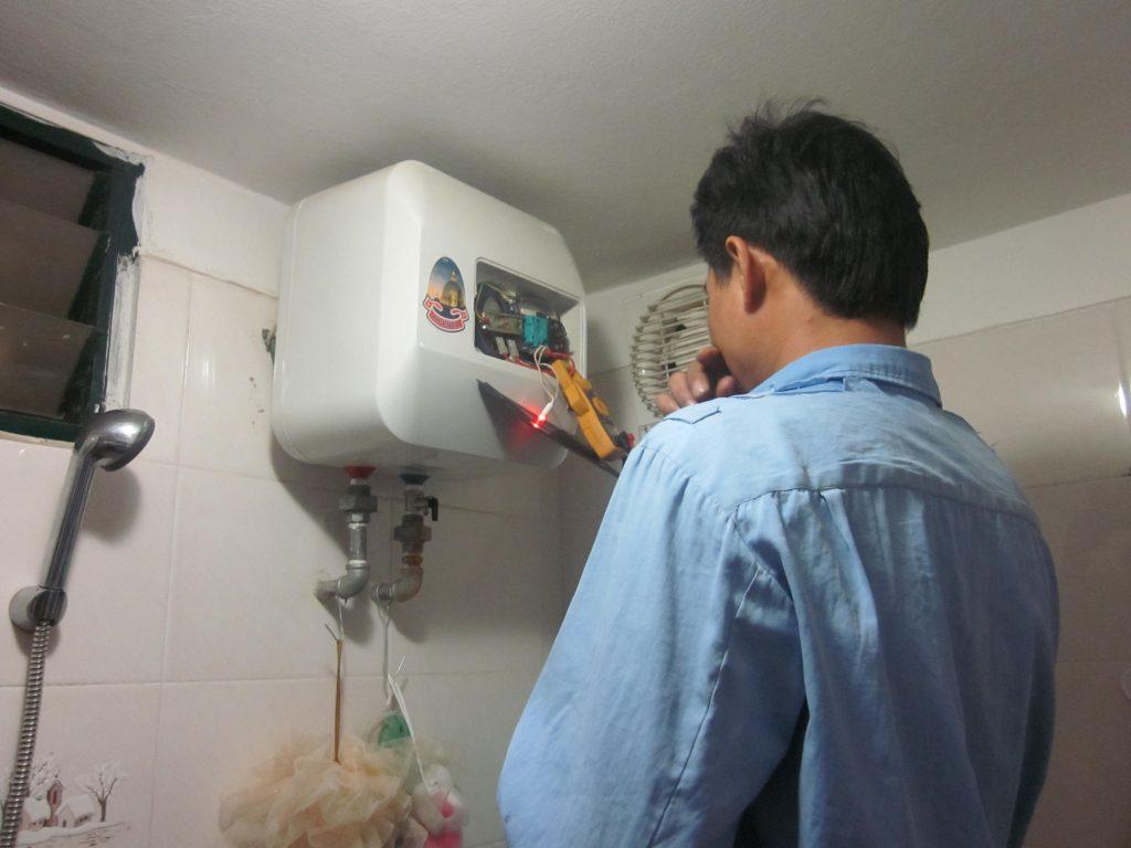 Sửa bình nóng lạnh trực tiếp-Sửa điện lạnh