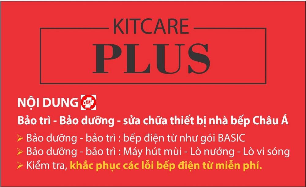 Bảo dưỡng sửa chữa thiết bị bếp Kitcare Plus 2