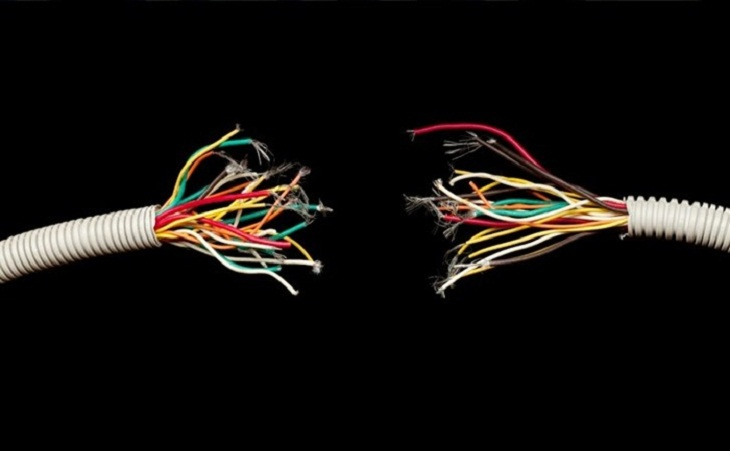 Hở mạch điện là dấu hiệu rất dễ mắc phải