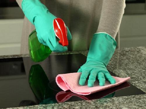 Các bước vệ sinh bếp từ