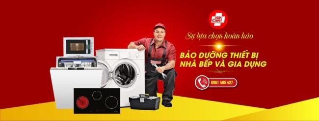 Các loại dịch vụ của trung tâm sửa máy giặt Electrolux ở KitCare