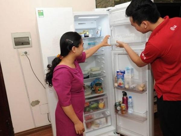 cách sửa Tủ lạnh LG làm lạnh kém sau một thời gian sử dụng