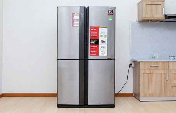 tủ lạnh kêu to do dung tích tủ lạnh lớn