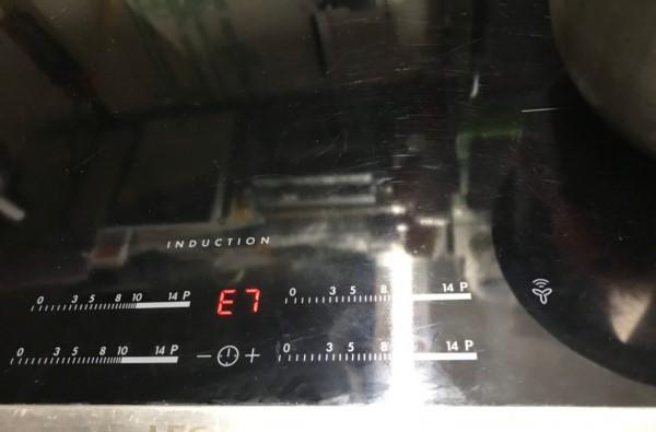 Bếp từ lỗi e7 là lỗi gì