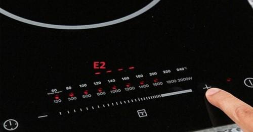 Lỗi E2 bếp từ là lỗi gì
